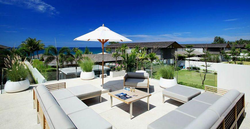 10-Villa Aqua - Outside living area