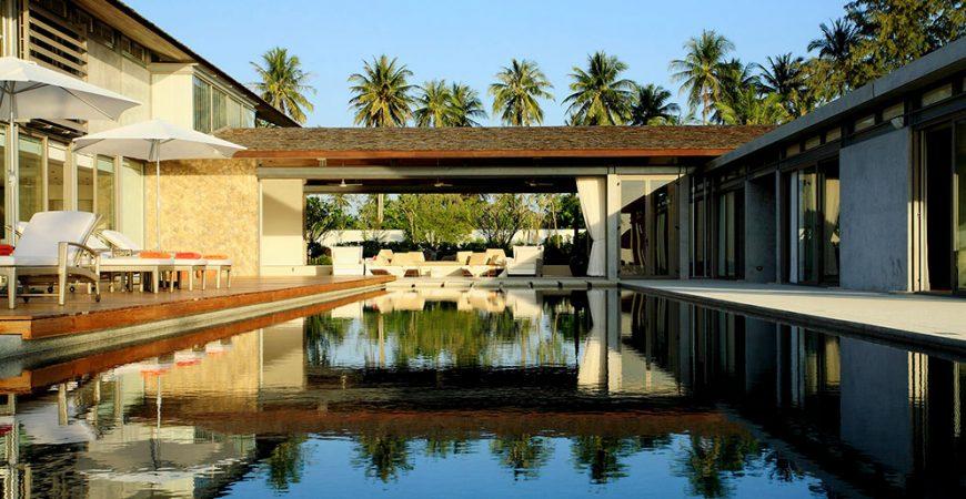 11-Villa Malee Sai - Pool area