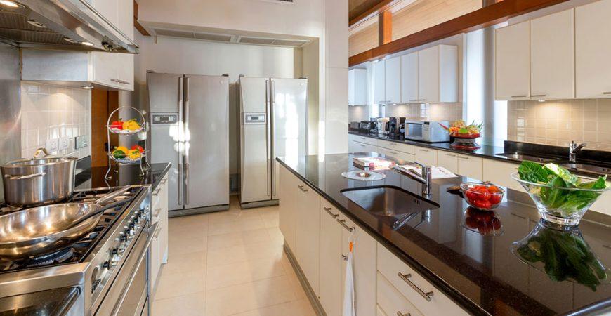11. Villa Sundara - Modern kitchen setting