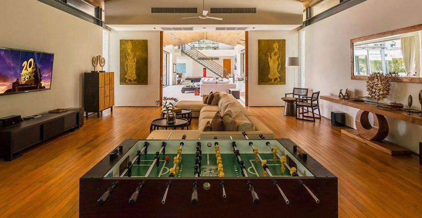 14. Villa Cielo - Entertainment space