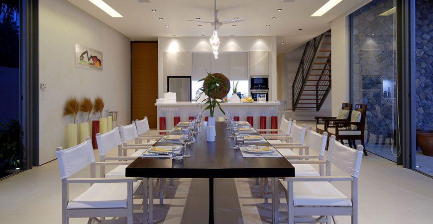 15-Villa Malee Sai - Dining area design