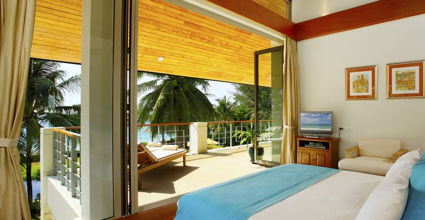 17. Baan Taley Rom - Tropical bedroom outlook
