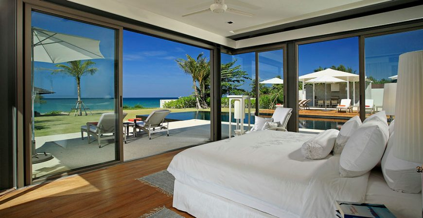 3-Villa Malee Sai - Stunning view from the bedroom