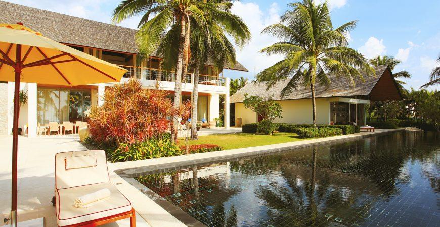 5. Baan Taley Rom - Stunning pool
