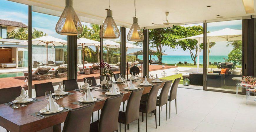 5. Villa Cielo - Stunning dining area