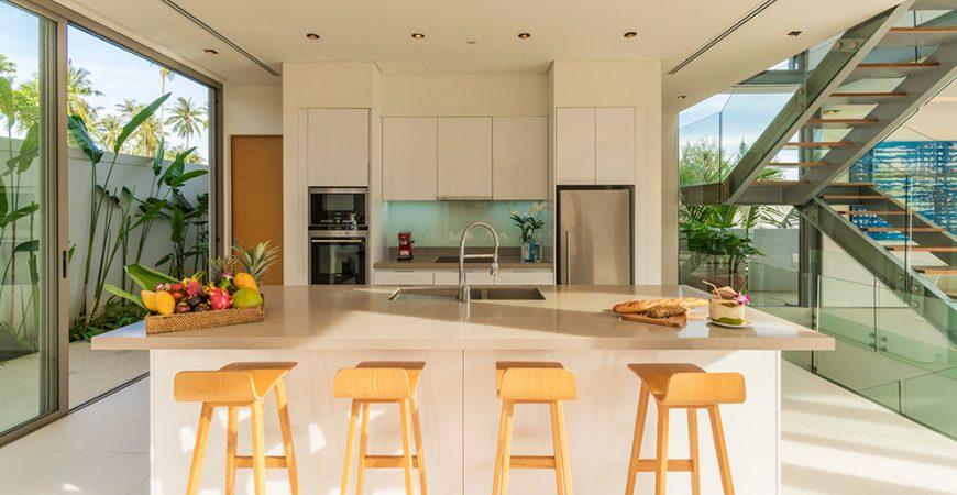 5. Villa Roxo - Modern kitchen design