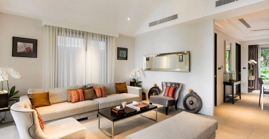 6. Infinity Blue Phuket - Living area setting