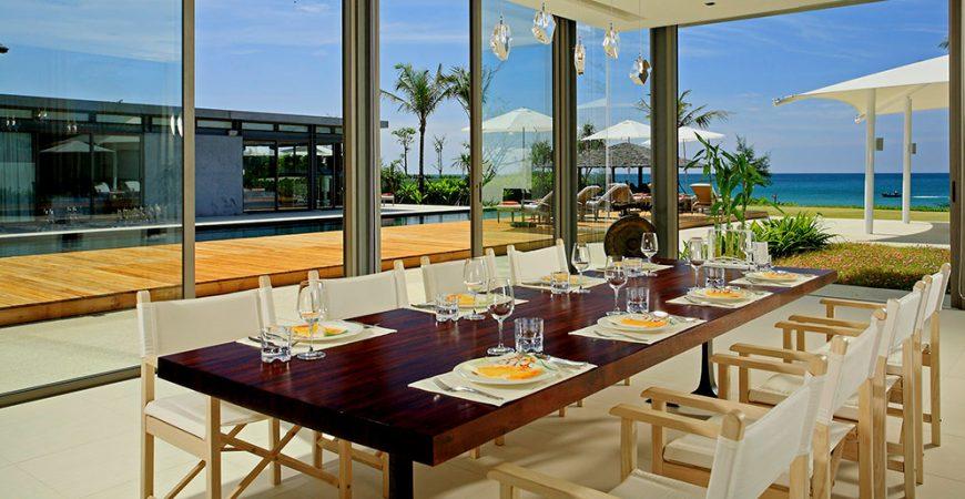7-Villa Malee Sai - Dining area outlook