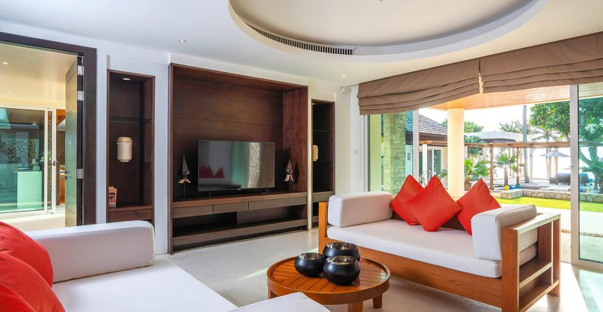 7. Villa Yaringa - Intimate living space