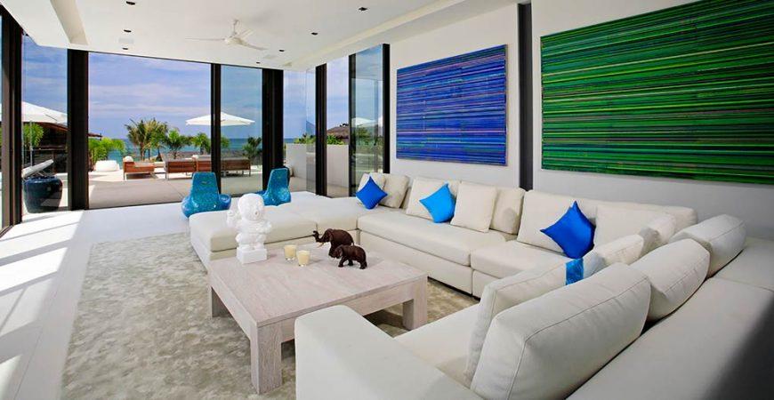 8-Villa Aqua - Living area outlook