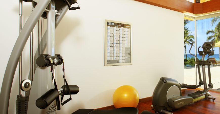 8. Baan Taley Rom - Gym area