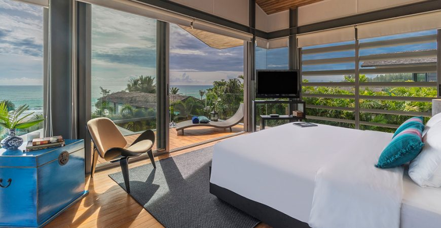 8. Villa Roxo - View from the bedroom