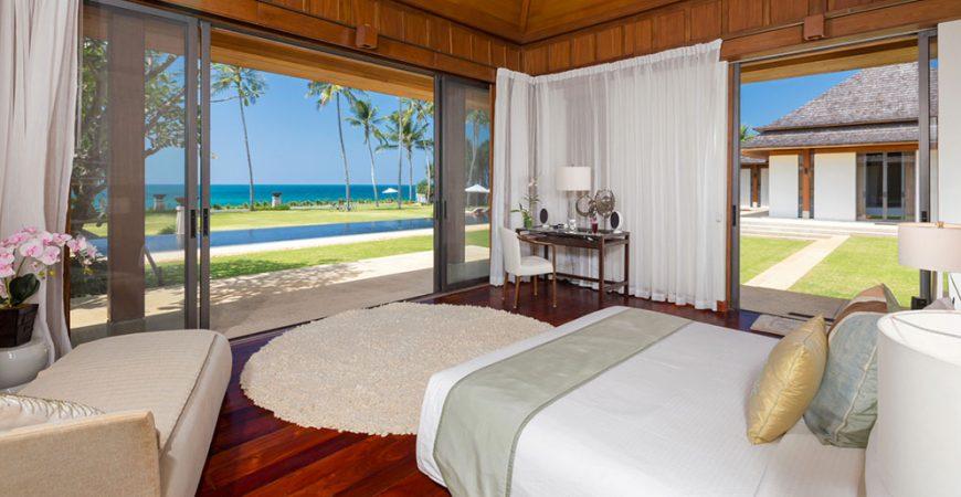 9. Villa Sundara - Master bedroom with magnificent view - Copy