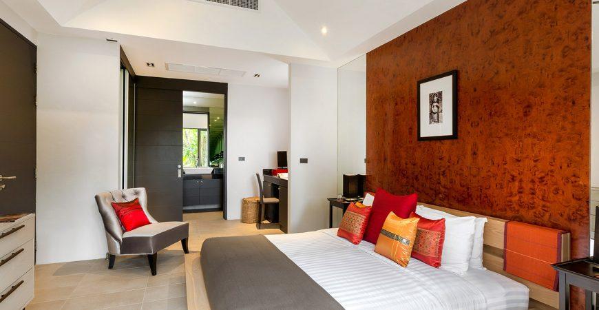 Infinity Blue Phuket - Bedroom facade