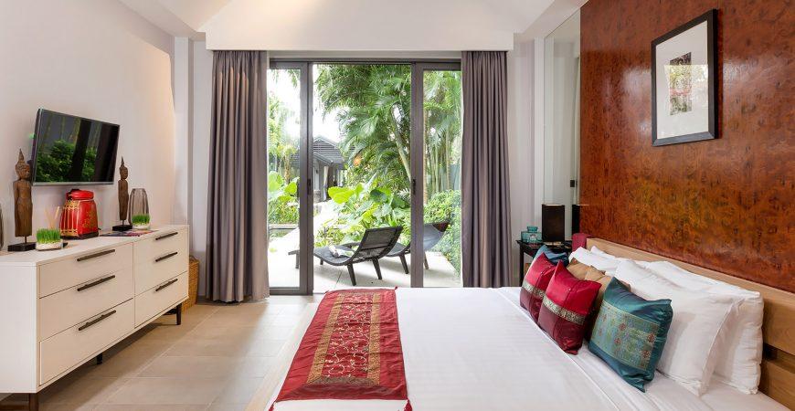 Infinity Blue Phuket - Fancy bedroom setting
