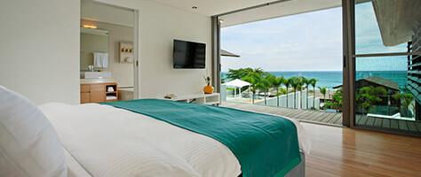 Villa Aqua - Bedroom layout
