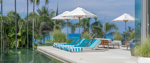 Villa Aqua - Pool deck