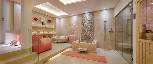 Villa Aqua - Private spa and sauna room