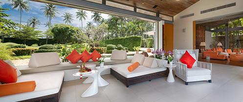 Villa Malee Sai - Living area