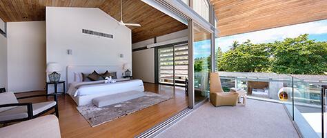 Villa Tievoli - Upstairs master bedroom