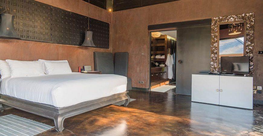 3. Villa Saanti - Bedroom design