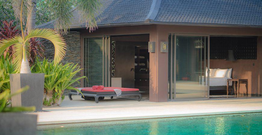 Villa Saanti - Poolside bedroom